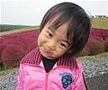 納 優羽ちゃんの写真
