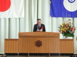 下館第一高等学校創立90周年記念式典2