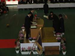 南中卒業式2