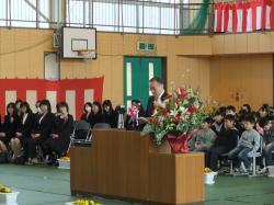 小学校卒業式1