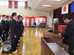 産業技術専門学院入学式1