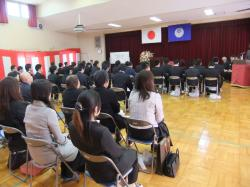 産業技術専門学院入学式2