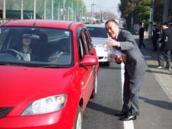 春の交通安全キャンペーン2