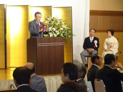 富田氏叙勲祝賀会1