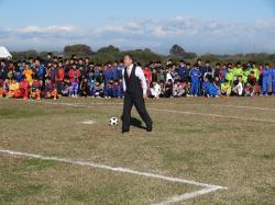 筑西市長杯少年サッカー大会