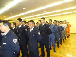 消防本部年頭訓示2