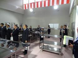 学校給食センター竣工式2