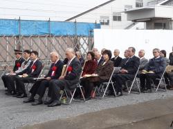 川島駅新駅舎供用開始式典2