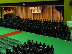 中学校卒業式2