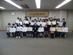 小中学生の市長報告会2