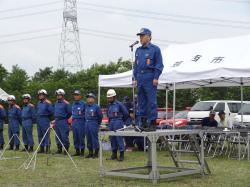消防団水防訓練1