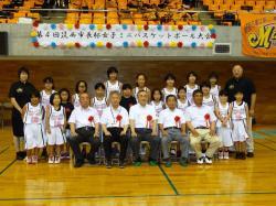 筑西市長杯女子ミニバスケット2