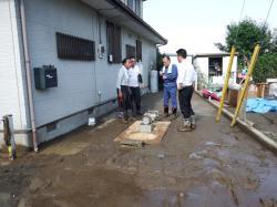 台風による大雨被害1