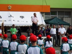 竹島小学校運動会1