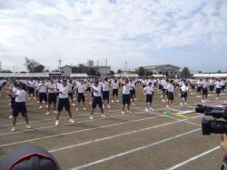 関城中学校運動会2