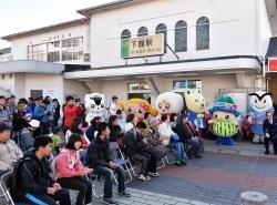 下館駅まえ・駅なかフェスティバル1