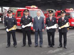 消防ポンプ車引渡式1