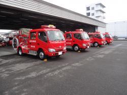 消防ポンプ車引渡式2