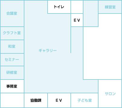 施設案内図 2階