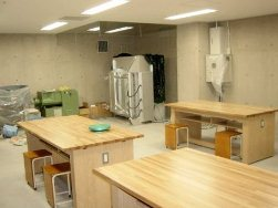 地下陶芸室