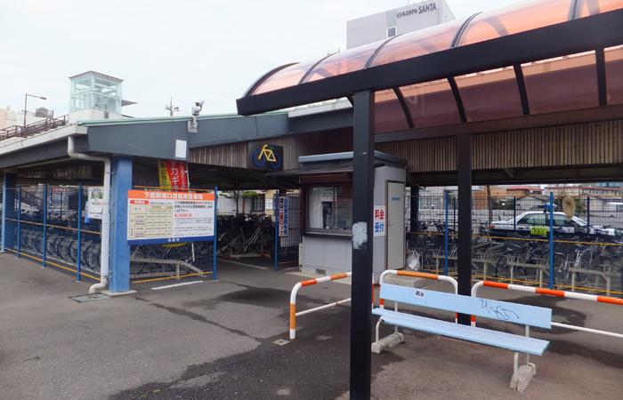下館駅南口自転車駐車場03