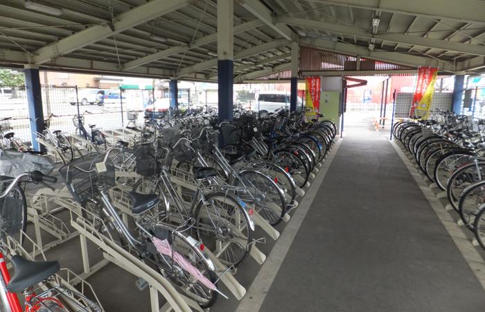 下館駅南口自転車駐車場05