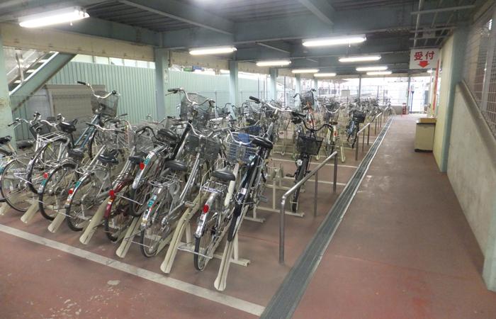 下館駅北口自転車駐車場04