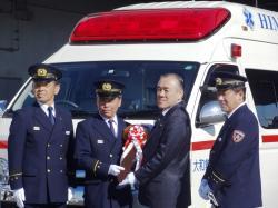 『『救急車両納車式2』の画像』の画像