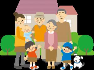『多世代同居』の画像