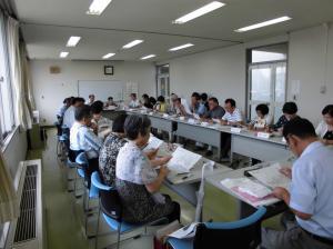 『29.8.10 民生委員明野地区定例会』の画像