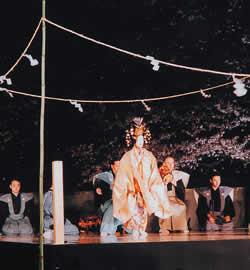 Akeno Takigi-Noh
