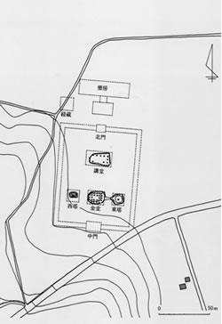 新治廃寺跡(附上野原瓦窯跡)