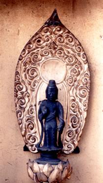銅造観世音菩薩立像(どうぞうかんぜおんぼさつりゅうぞう)