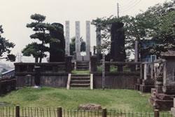 加波山事件志士の墓