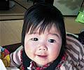 押坂 優那ちゃんの写真
