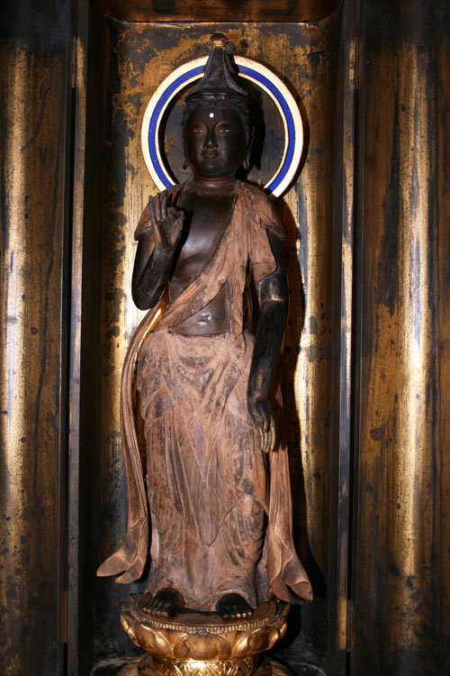 木造聖観音立像