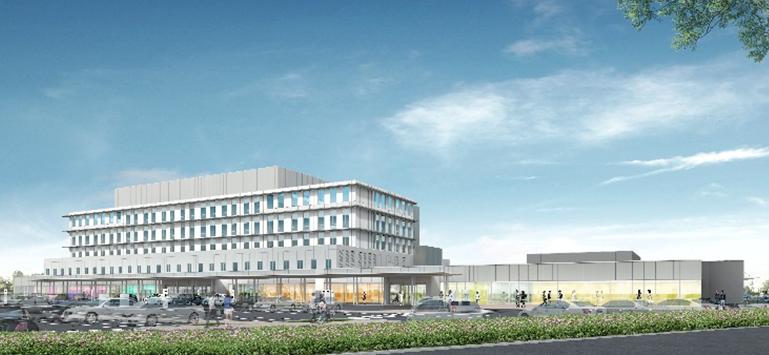 『茨城県西部メディカルセンター』の画像