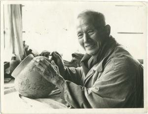 『波山先生笑顔』の画像