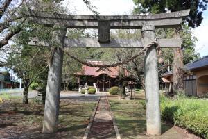 『五所神社石造鳥居』の画像