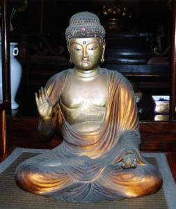 『最勝寺 薬師如来坐像』の画像