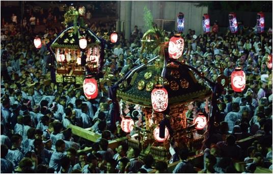 『『筑西市の大神輿、平成神輿と明治神輿』の画像』の画像