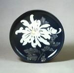 『彩磁菊花図額皿』の画像