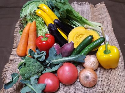 『吉野農園の野菜』の画像
