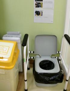 『簡易トイレ』の画像