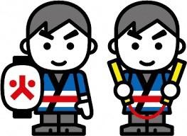 『消防団員キャラクター』の画像