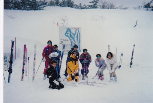 『スキー場にて』の画像