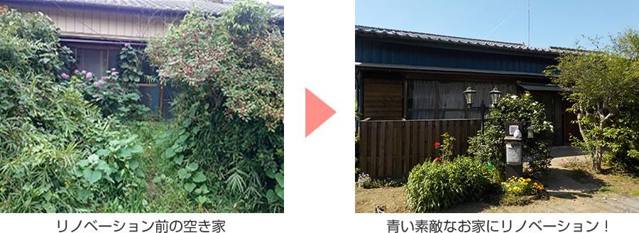 『リノベーション前と後』の画像