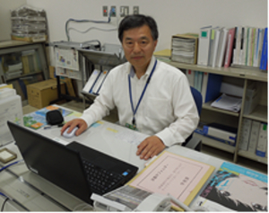 『教育委員会次長古幡画像(1)』の画像