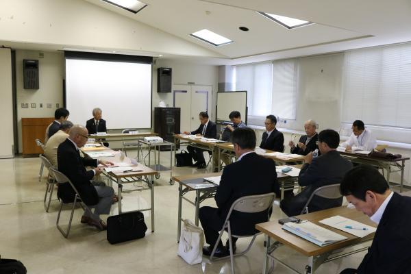 『第1回新治廃寺跡保存活用計画策定委員会』の画像