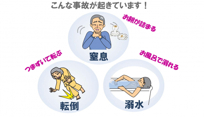 『みんなで防ごう高齢者の事故』の画像